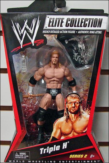 WWE Elite Collection Triple H Jan 2010 Action Figure by Mattel