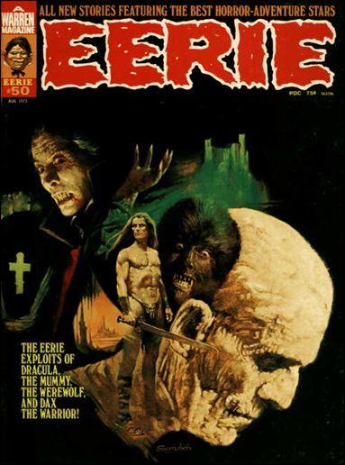 Eerie 50 A Aug 1973 Magazine by Warren