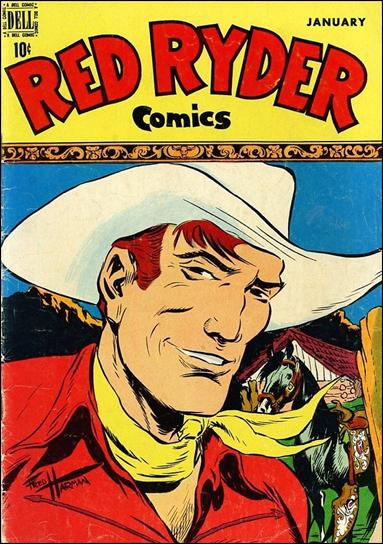 Red Ryder Comics 66 A Jan 1949 Comic Book by Dell
