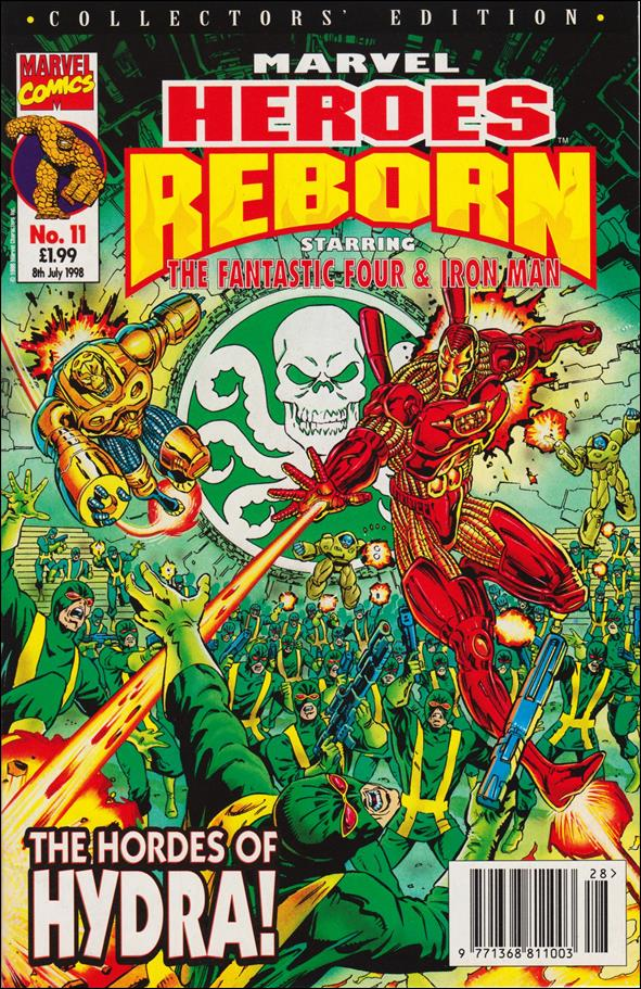Marvel Heroes Reborn 11 A Jul 1998 Comic Book by Panini