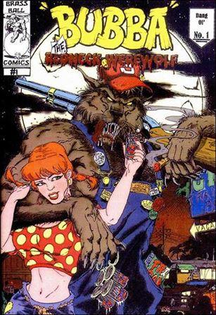 Bubba the Redneck Werewolf 1 B Jan 2002 Comic Book by Brass Ball