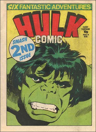 Hulk Comic 2 A Mar 1979 Comic Book by Marvel UK