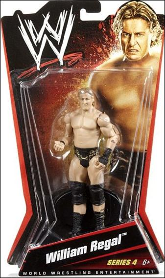 WWE William Regal Jan 2010 Action Figure by Mattel