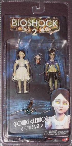 BioShock 2 Young Eleanor and Little Sister Jan 2010 Action Figure by NECA