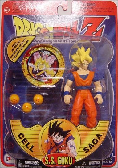 Dragon Ball Z SS Goku Jan 2001 Action Figure by Irwin Toys