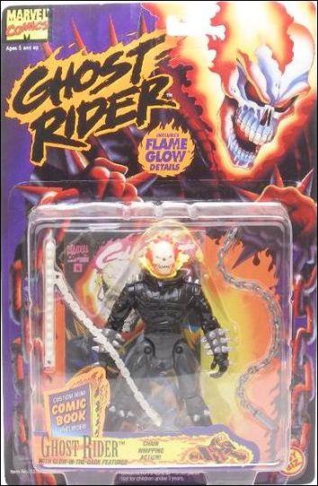 Ghost Rider Ghost Rider Jan 1995 Action Figure by Toy Biz