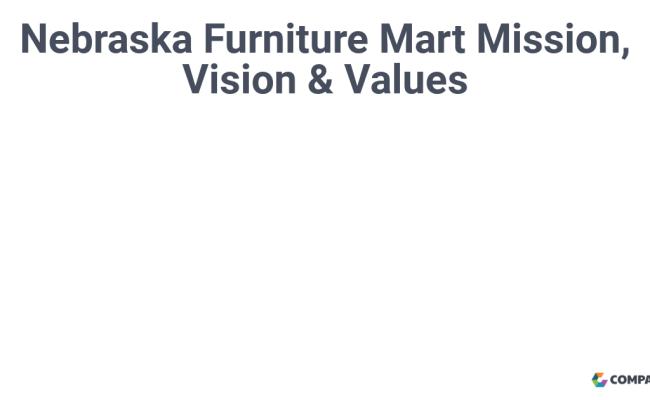 Nebraska Furniture Mart Mission Vision Values Comparably