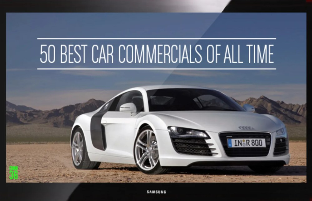 medium resolution of the 50 best car commercials of all time