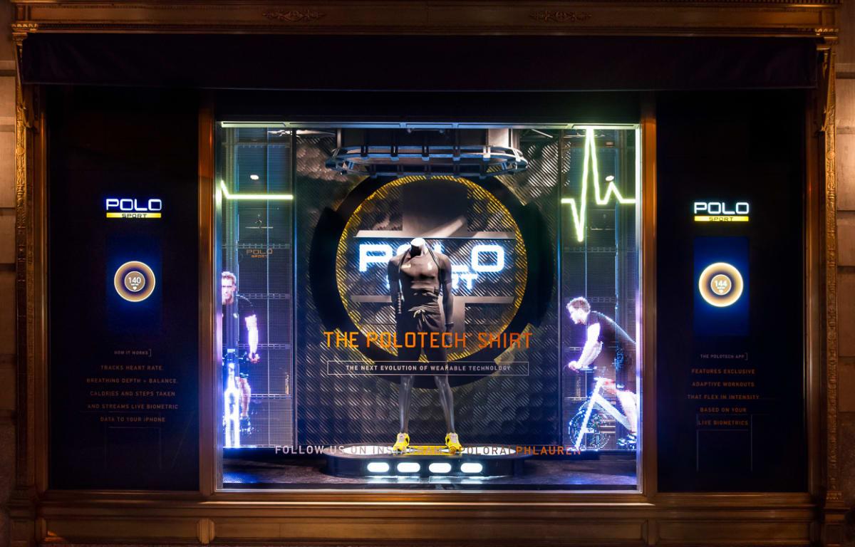Best 3d Hologram Wallpaper Ralph Lauren Creates Holographic And Interactive Window