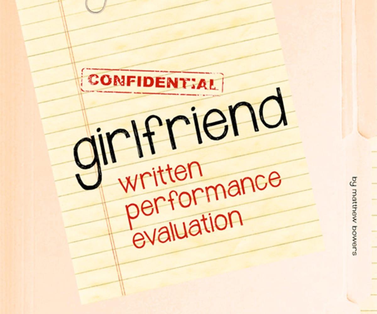Matthew Bowers' Girlfriend Written Performance Evaluation Will Help You  Grade Your Partner   Complex