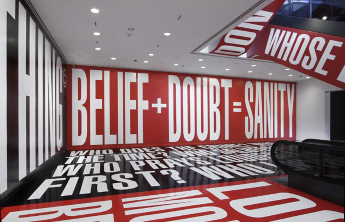 Interview Barbara Kruger Talks Her New Installation And