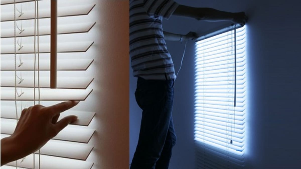 These Illuminated Blinds Are TailorMade For The