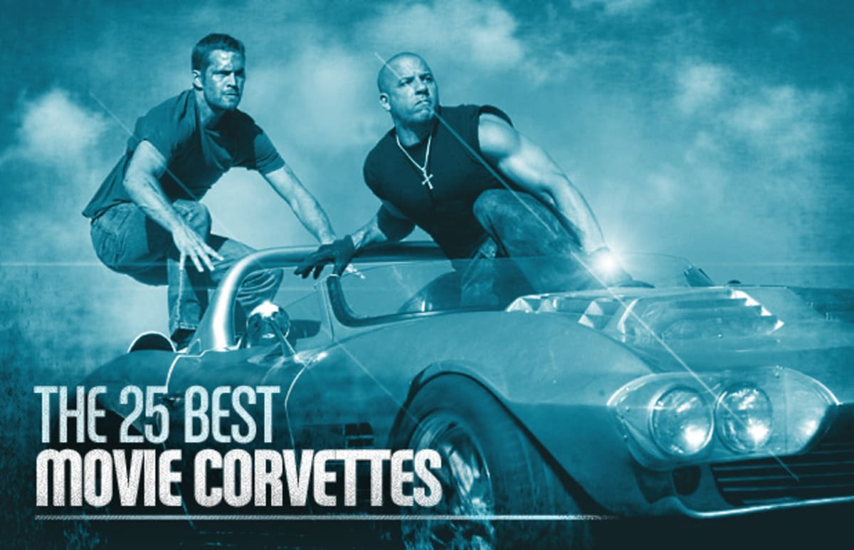 The 25 Best Movie Corvettes  Complex