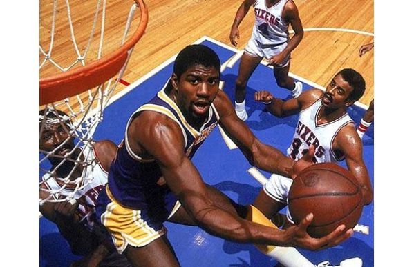Magic Johnson The 25 Greatest Players of the NBA39s