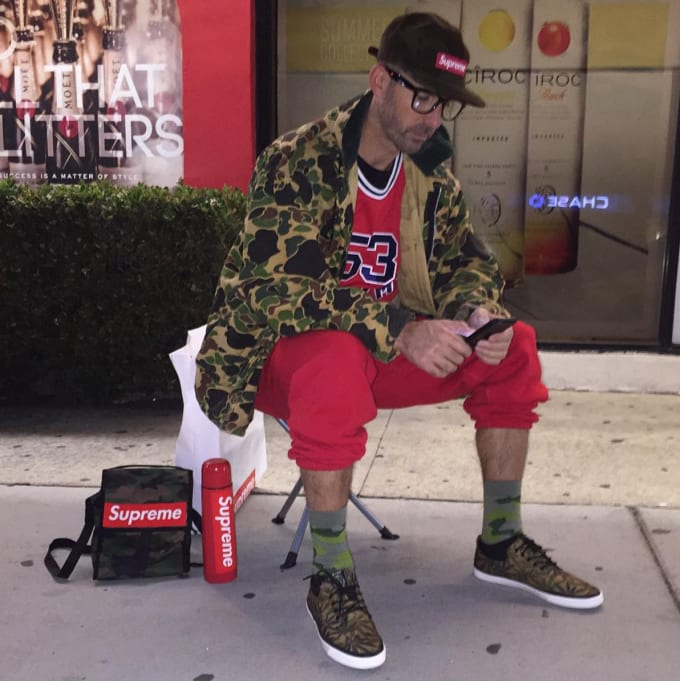 Guy in Line at Supreme Wins Most Hypebeast Halloween