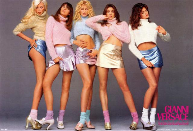 versace,giani,,80's fashion,miniskirt