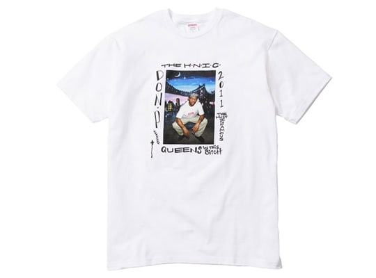 f7a7c5c9899f In 2011, Prodigy of Mobb Deep joined a long list of influential  personalities making their way into Supreme history, as being the next  celebrity photo tee.