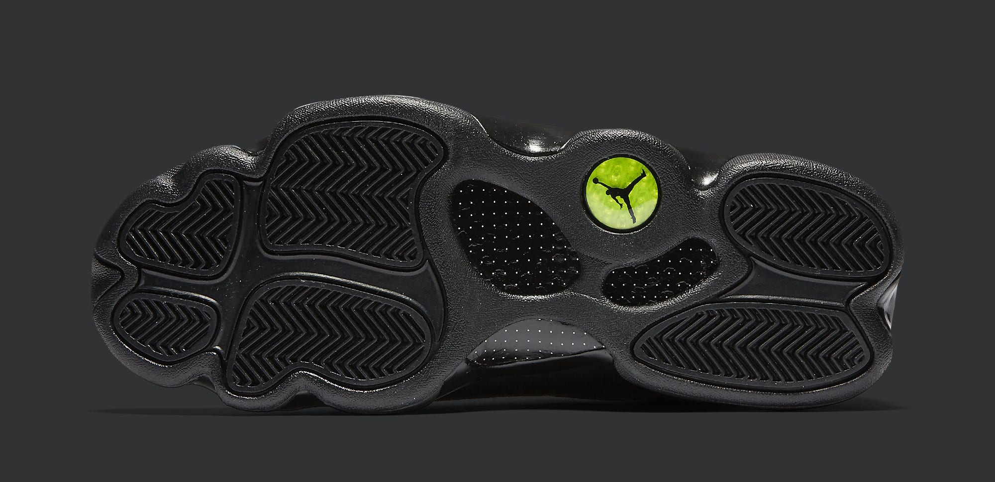 Black Cat Air Jordan 13 414571-011 Sole