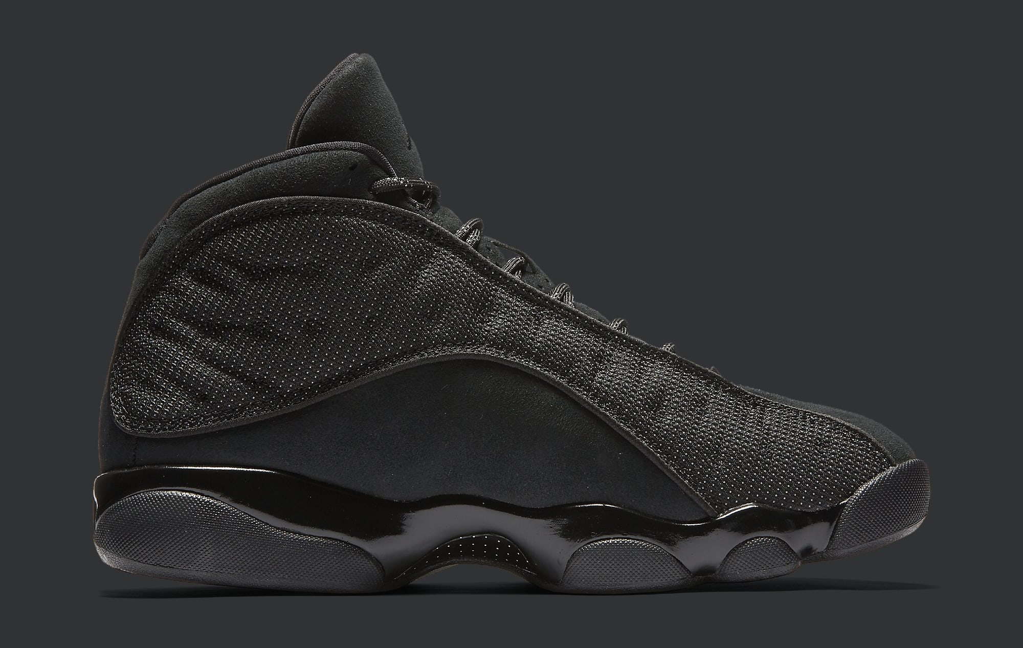 Black Cat Air Jordan 13 414571-011 Medial
