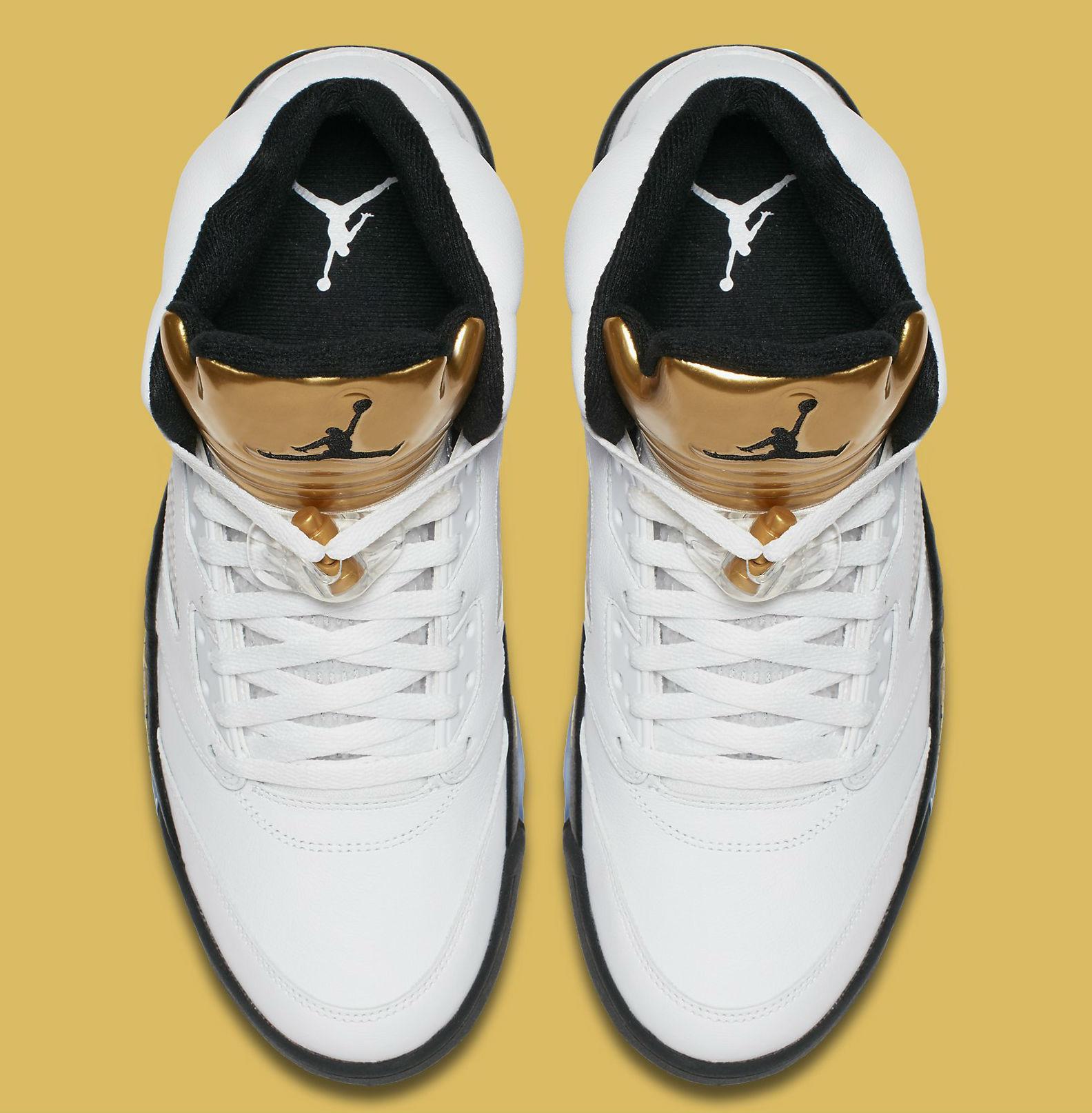 Gold Jordan 5 Release Date Top 136027-133
