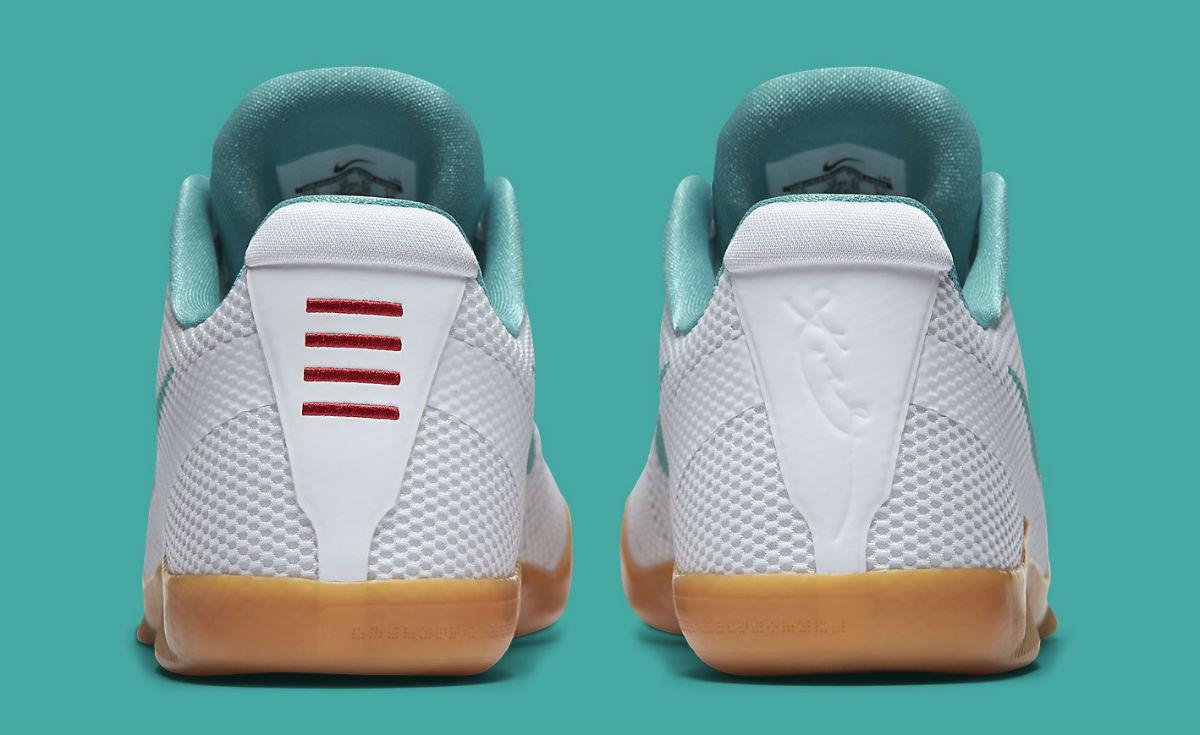 Nike Kobe 11 Summer Pack Release Date Heel 836183-103