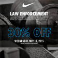 Nike s second annual law enforcement appreciation day is tomorrow