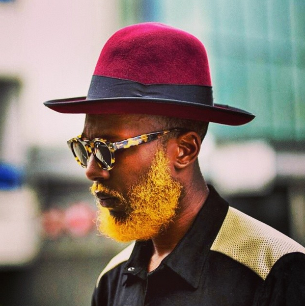 Men Are Dyeing Their Beards Bright Colors Complex