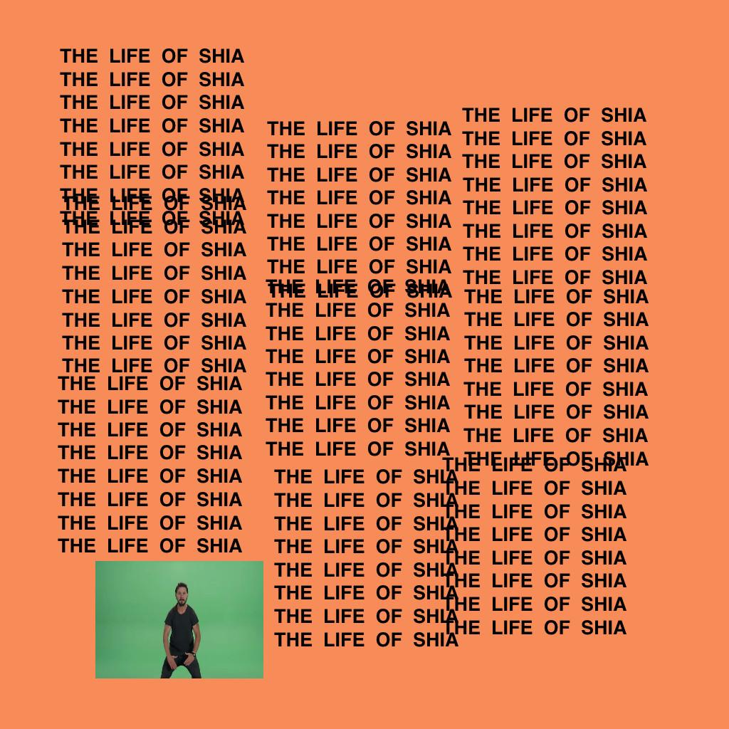 Rap Album Covers Reimagined With Shia LaBeouf  PigeonsandPlanes