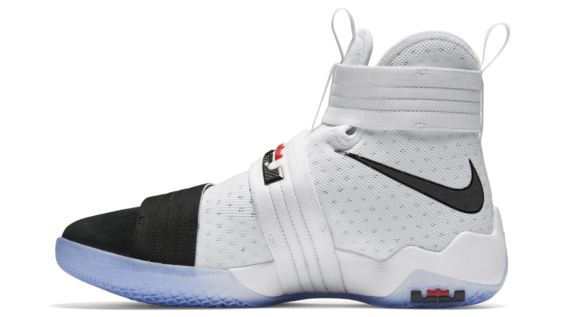 reputable site 22123 bcc59 The Nike LeBron Soldier 10 Gets its Own Black Toe Colorway ...