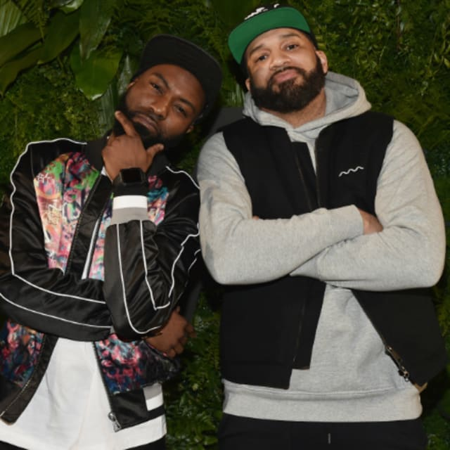 inflatable chair canada lifetime plastic chairs desus and mero mock dj envy for walking out of his own show | complex