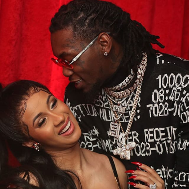 Cardi B Bought Offset A Blinged Out Bando Chain For