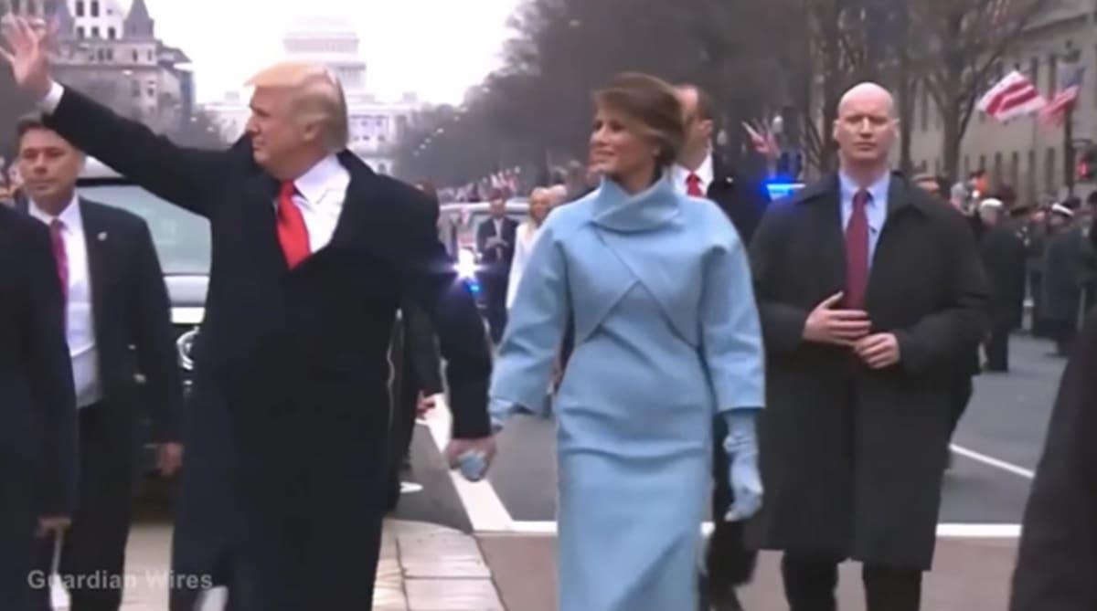 Trump Security Guard