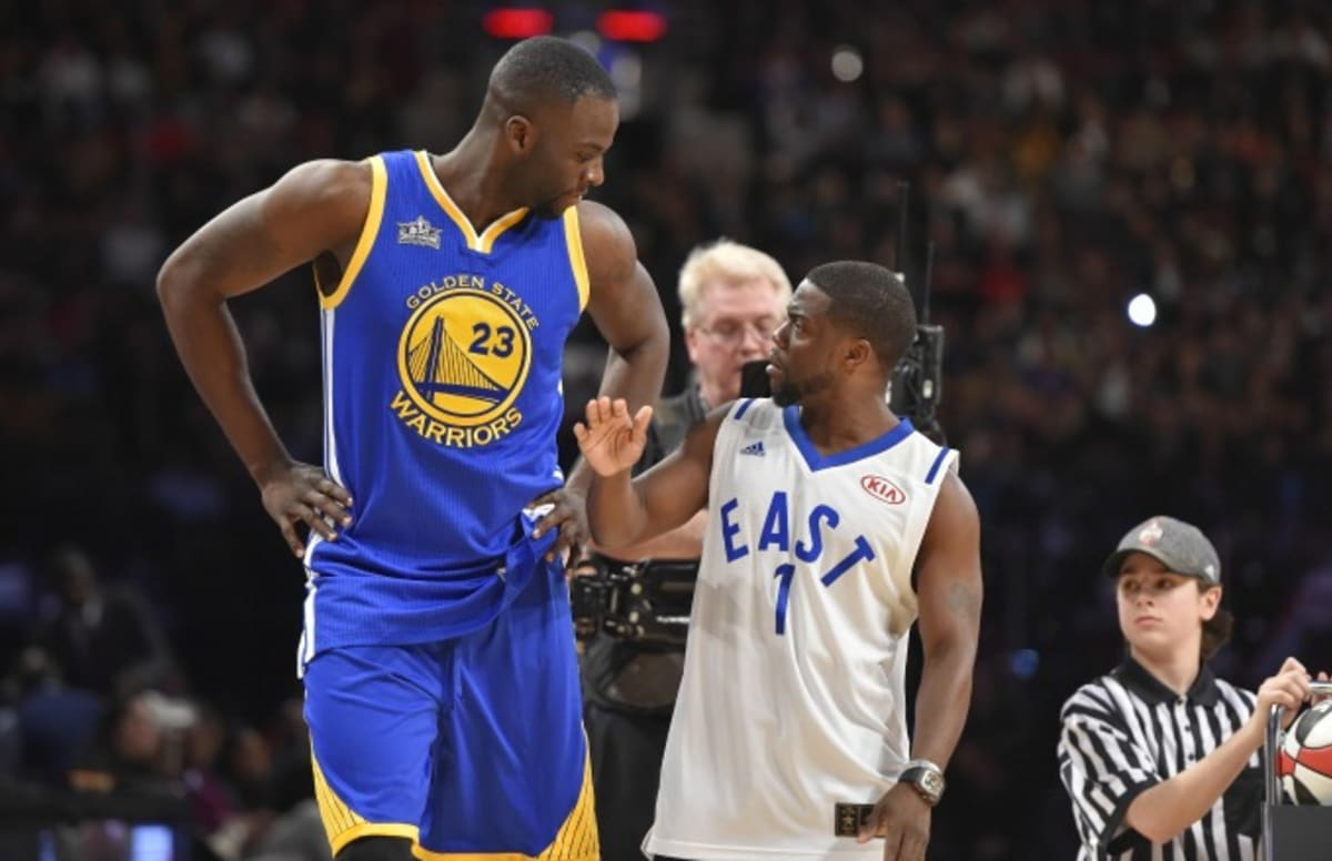 Draymond Green Rips Kevin Hart for Being Bad at Basketball