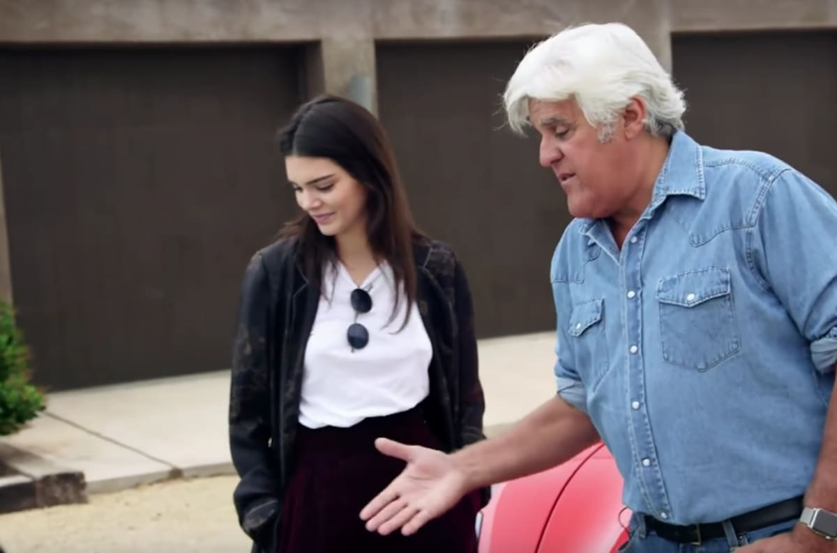 Kendall Jenner Has Jay Leno To Thank For Her Pristine 56