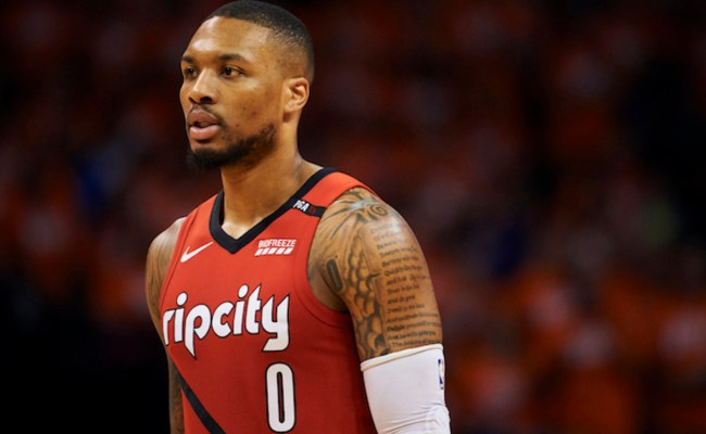 Damian Lillard Responds To Shannon Sharpe S Hot Take Complex
