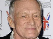 Hugh Hefner - attend a signing session for 'Playboy's Miss July and Miss August' at the Playboy ...