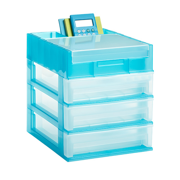 3Drawer Desktop Organizer  The Container Store