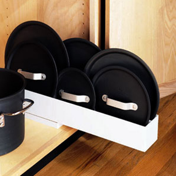 pot lid organizer the container store