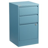 Bisley Blue 2- & 3-Drawer Locking Filing Cabinets | The ...