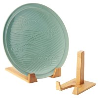 Bamboo Plate Stands | The Container Store