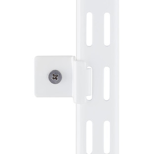 White Elfa Hang Standard Wall Clips  The Container Store