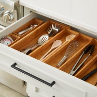 Bamboo Kitchen Drawer Starter Kit | The Container Store