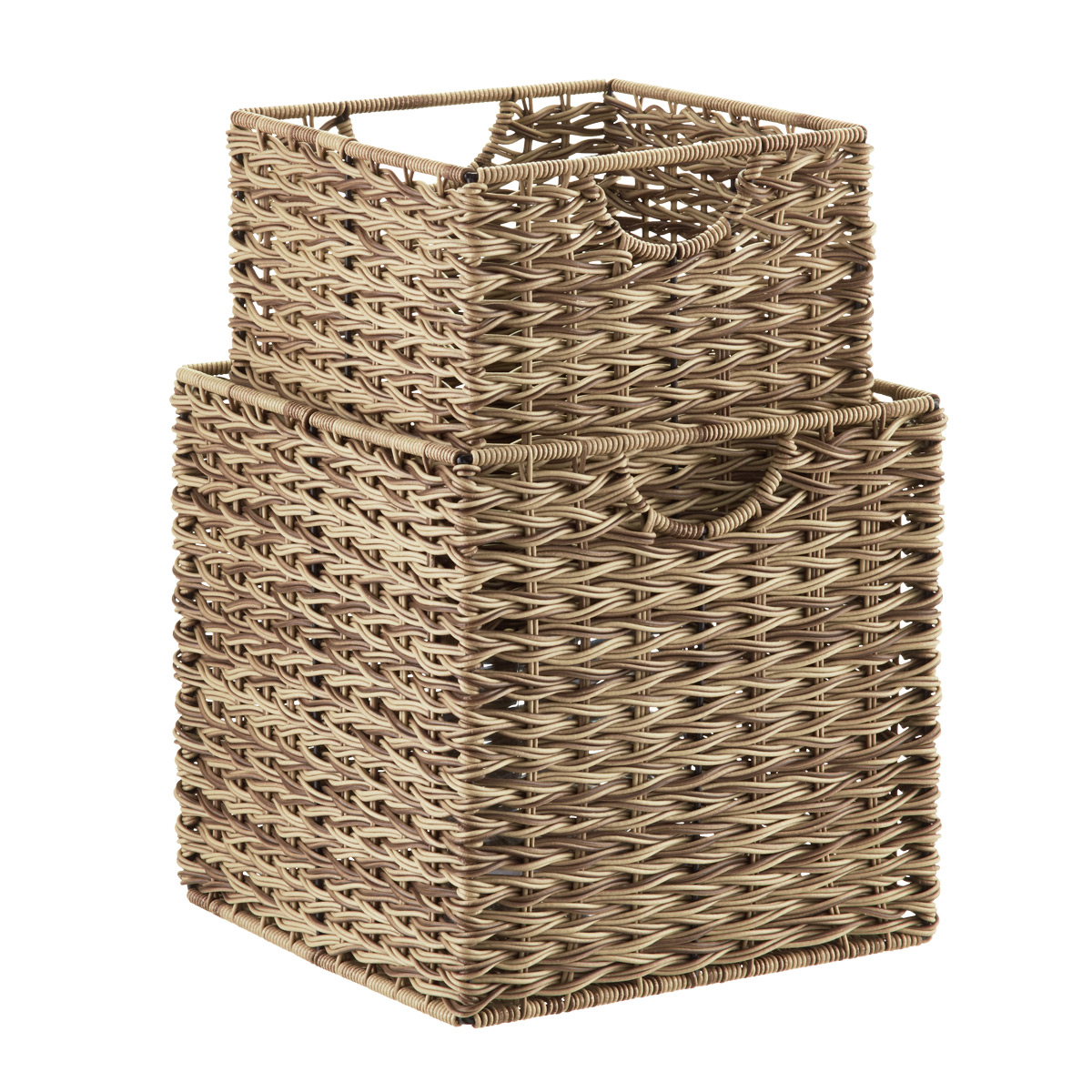 Ashcraft Storage Cubes With Handles Container Store