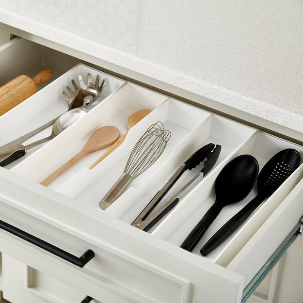 drawer organizers, utensil holders & silverware trays | the