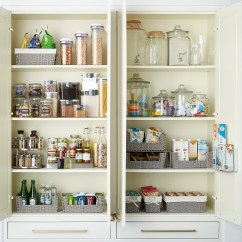 Kitchen Pantry Organizers Saloom Tables Montauk Open Front Bin The Container Store