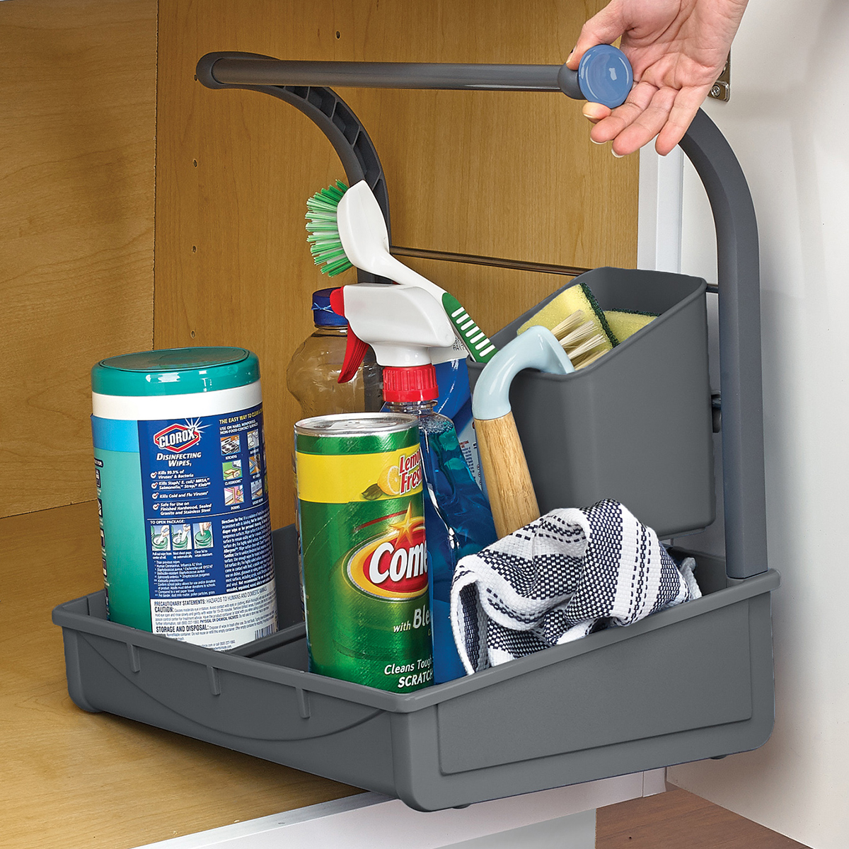Polder Under the Sink Storage Caddy  The Container Store
