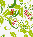 Holly Swirl Gift Wrap