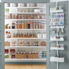 Kitchen Pantries And Bath Cabinets Pantry Shelving Ideas Designs For Shelves White Elfa Decor With Utility Door Wall Rack