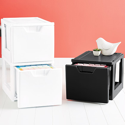 Tips for Document Storage  Ideas  Organization Tips  The Container Store