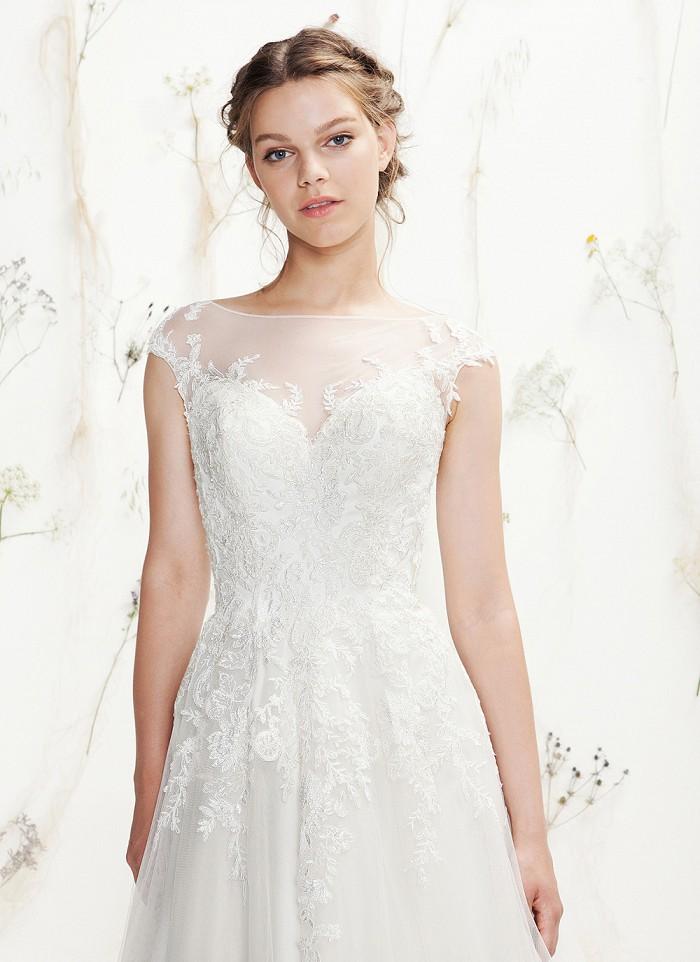Brautkleider mit Spitze am Rcken